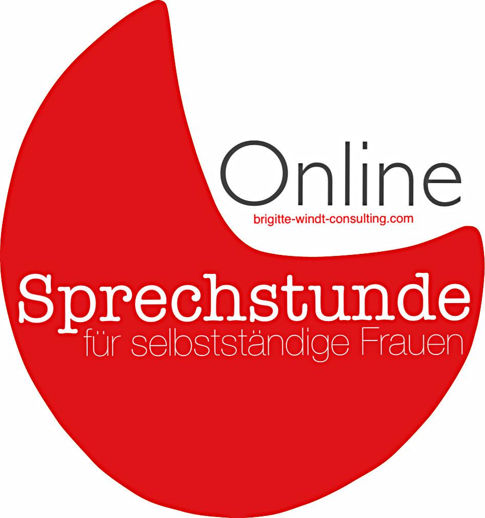 Online-Sprechstunde für selbstständige Frauen mit Brigitte Windt Berlin
